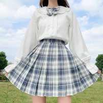 student uniforms Summer 2021 XS,S,M,L,XL,XXL Long sleeves solar system skirt 18-25 years old Other / other polyester fiber 71% (inclusive) - 80% (inclusive)