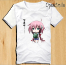 Cartoon T-shirt / Shoes / clothing Things from heaven T-shirt Over 14 years old goods in stock XS-160,S-165,M-170,L-175,XL-180,XXL-185,XXXL-190 No season Japan currency Opensmile Leisure, lovely, college, Japanese, sweet, simple, street, commuting cotton