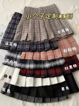 skirt Spring 2021 XS,S,M,L Gray, white, black, khaki, dark blue, pink, blue white, red black longuette commute High waist A-line skirt Solid color Type A 18-24 years old other zipper
