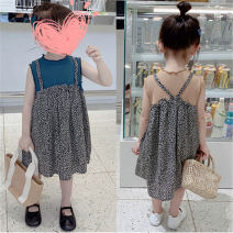 Dress Blue, brown female Other / other 7(90cm),9(100cm),11(110cm),13(120cm),15(130cm) Other 100% spring and autumn Korean version other other 2 years old, 3 years old, 4 years old, 5 years old, 6 years old Chinese Mainland