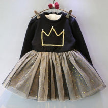 Dress Picture color female Other / other 7,9,11,13,15 Other 100% spring and autumn princess Long sleeves other other other F1959 2 years old, 3 years old, 4 years old, 5 years old, 6 years old