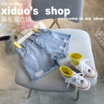 trousers Other / other female 7(100cm),9(110cm),11(120cm),13(130cm),15(140cm) Graph color summer shorts Korean version Jeans 2 years old, 3 years old, 4 years old, 5 years old, 6 years old