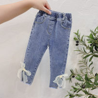 trousers Other / other female 7(90cm),9(100cm),11(110cm),13(120cm),15(130cm) Graph color spring and autumn trousers Korean version Jeans other F6410 F6410 2 years old, 3 years old, 4 years old, 5 years old, 6 years old Chinese Mainland