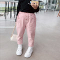 trousers Other / other female 7(90cm),9(100cm),11(110cm),13(120cm),15(130cm) Graph color spring and autumn trousers leisure time Casual pants Don't open the crotch Casual pants 2 years old, 3 years old, 4 years old, 5 years old, 6 years old