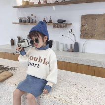 suit Other / other Graph color 7(90cm),9(100cm),11(110cm),13(120cm),15(130cm) female winter Korean version Long sleeve + skirt routine Socket nothing other F6120 2 years old, 3 years old, 4 years old, 5 years old, 6 years old Chinese Mainland