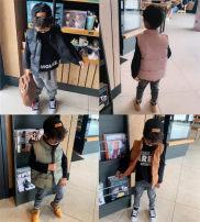 Vest neutral Green, caramel, black and pink 90cm,100cm,110cm,120cm,130cm,140cm Other / other 18 months, 2 years old, 3 years old, 4 years old, 5 years old, 6 years old, 7 years old