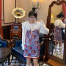 Dress Spring 2021 Shirt, suspender skirt Average size Short skirt singleton  Long sleeves commute Crew neck Elastic waist Socket other other Others 18-24 years old Type A Korean version 3700#