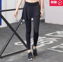 Fitness pants female CK8107 Other / other Moisture absorption, perspiration, quick drying, air permeability, super elasticity trousers middle-waisted Conjoined Spring of 2019 spandex
