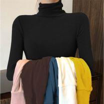 T-shirt Xb: 3201 white T-shirt [high quality version], Xb: Black T-Shirt [high quality version], Xb: Pink T-Shirt [high quality version], Xb: blue T-shirt [high quality version], Xb: gray T-shirt [high quality version], warehouse random delivery T-shirt Summer 2021 Long sleeves High collar routine