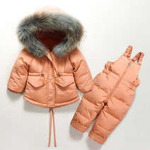 Down Jackets Size 80, Size 90, size 100, size too big, please don't be greedy, Baoma^_^ 90% White duck down Children, female, male Other / other Orange, red, light blue, dark grey polyester Medium length No detachable cap Zipper shirt Solid color 6 months, 9 months, 18 months, 2 years, 3 years
