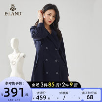 Dress Spring 2021 A-navy (59) Navy b-navy (59) Navy C-NAVY (59) Navy d-navy (59) Navy 155/XS 160/S 165/M 170/L Mid length dress singleton  Long sleeves Sweet tailored collar Solid color double-breasted A-line skirt puff sleeve 25-29 years old Type X E·LAND EEOWB62Q1I More than 95% other Other 100%