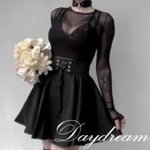 skirt Summer 2016 S,M,L black