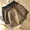 Casual pants Coffee, black, light coffee M,L,XL Autumn 2020 shorts Natural waist commute routine 18-24 years old 30% and below SG306881 Korean version