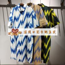 Dress Summer 2021 465 / blue, 099 / black, 920 / khaki, colorful XS/150,S/155,M/160,L/165,XL/170 JNBY / Jiangnan cloth clothing