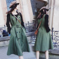 Women's large Spring 2021 Picture color M [recommended 80-100 Jin], l [recommended 100-120 Jin], XL [120-140 Jin], 2XL [140-160 Jin recommended], 3XL [160-180 Jin recommended], 4XL [180-200 Jin recommended] Other oversize styles Two piece set commute easy moderate Socket Long sleeves Solid color