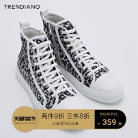High shoes Trendiano 38 39 40 41 42 43 Xingdihei 872 Pig skin Round head Frenulum Mesh Mesh Pig skin rubber daily wear-resisting Leather stitching Pig skin 3ZA351806T Autumn of 2019 Same model in shopping mall (sold online and offline)