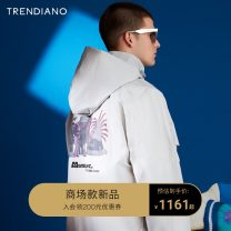 Windbreaker Trendiano Fashion City S M L XL zipper routine easy Other leisure spring youth Detachable cap tide Polyamide fiber (nylon) 100% other Spring 2021 Same model in shopping mall (sold online and offline)