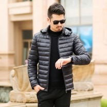 cotton-padded clothes Blue, black Others Recommended weight: 272xl-1625xl other routine have cash less than that is registered in the accounts Self cultivation go to work NP-0010 Polyester 100% stand collar youth zipper Business Casual Washed cotton Straight hem Solid color