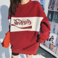 Sweater / sweater Autumn 2020 S M L XL Long sleeves routine Socket singleton  routine Crew neck easy commute routine letter 71% (inclusive) - 80% (inclusive) Xocoboho / Vanilla Mint Retro polyester fiber printing Polyester 80% other 20%