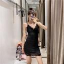 Dress Summer 2020 White, black, dark pink XS,S,M,L singleton  51% (inclusive) - 70% (inclusive) other