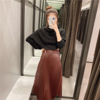 skirt Autumn 2020 XS,S,M,L brown 71% (inclusive) - 80% (inclusive) other