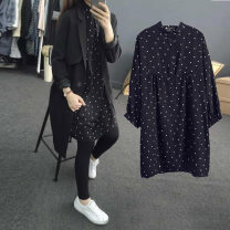 Shirt / Chiffon Long sleeves Black top (long sleeve), black top + black pants (long sleeve), black top + dark grey pants (long sleeve), black top + light grey pants (long sleeve), black belly pants (high quality version), black top (5-sleeve), black top + Black Capris (5-sleeve) L,XL,XXL,XXXL Dot