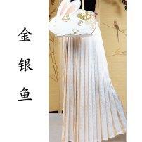 Hanfu 30% and below Baidieskirt made in Song Dynasty and horse face skirt made in Ming Dynasty Long skirt-l, croissant-l, croissant-xl, long skirt-xs, croissant-s, croissant-m, long skirt-m, croissant-xs, long skirt-s, long skirt-xl polyester fiber