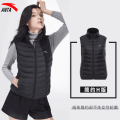 Down vest female XS/155 S/160 M/165 L/170 XL/175 XXL/180 Basic black 162045902RT Anta Winter 2020 stand collar Brand logo zipper yes Thermal, wear resistant and ultra light 90% grey duck down Sports life cotton Same model in shopping mall (sold online and offline)