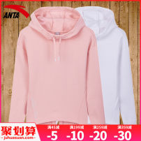 Sportswear / Pullover Anta female Socket Hood Summer 2021 Brand logo Sports & Leisure Warm and breathable Sports life yes