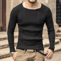 T-shirt / sweater Mixlimited / men's Club Youth fashion Dark grey blue, black, royal blue, coffee, charcoal M,L,XL,2XL routine Socket Crew neck Long sleeves J663 autumn Slim fit leisure time tide youth raglan sleeve Solid color washing
