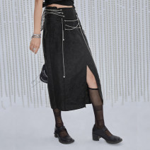 skirt Spring 2021 S M L Hemp black milky white Middle-skirt commute Natural waist other other Type A 25-29 years old B21115059 51% (inclusive) - 70% (inclusive) other UEOO cotton literature Cotton 60% polyester 40% Pure e-commerce (online only)