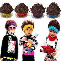 Hat Average size Red Ginger sky blue purple 1-6 years old neutral Plush hat dome leisure time No eaves blending