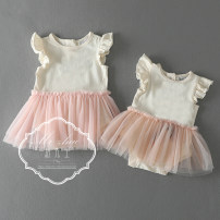 Dress Little mouse, little fairy female Other / other NEW BABY,0-3M,6-12M,12-18M,18-24M Cotton 100% cotton other 3 months, 12 months, 6 months, 9 months, 18 months, 2 years old