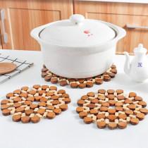 Coaster circular Small 60g large 100g bamboo Qianliang 000