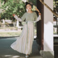 National costume / stage costume Summer of 2018 Yuange skirt will be delivered within 3 days after shooting. You need to wear it with panties or petticoat XS,S,M,L,XL