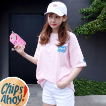 T-shirt SMLXLXXL Short sleeve Summer of 2018 Round neck Conventional models Loose conventional Commuting 18-24 years old classic Korean version LZJ8881