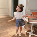 suit Other / other white 80cm,90cm,100cm,110cm,120cm,130cm female summer leisure time Sleeveless + pants 2 pieces Thin money There are models in the real shooting Socket nothing Solid color cotton Class B Cotton 100% 18 months, 2 years old, 3 years old, 4 years old, 5 years old, 6 years old