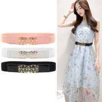 Belt / belt / chain Pu (artificial leather) White, black, pink female belt Versatile Single loop Youth, middle age, old age a hook Geometric pattern Patent leather 4cm alloy Bare body, sequins, heavy line decoration, candy color, jelly texture, tightness, flowers Yingmei leather goods 60cm,70cm