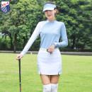 Golf apparel Light blue top, white trouser skirt, top + trouser skirt S,M,L,XL,XXL female ZG-6 Long sleeve T-shirt Y8816