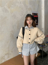 Fashion suit Autumn 2020 Average size Sweater, shirt 18-25 years old 99401#