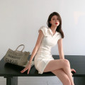 Dress Spring 2021 White, blue S, M