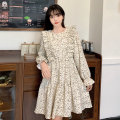 Dress Spring 2021 White black Average size Middle-skirt Long sleeves 18-24 years old Amy it girl D7293 More than 95% other Other 100% Pure e-commerce (online only)