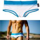 Men's swimsuit Ausbon Green stripe blue stripe red stripe S (1'9-2'1) m (2'2-2'4) l (2'5-2'7) XL (2'7-3'0) boxer AUSS-1313 nylon