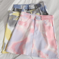 skirt Spring 2021 S,M,L,XL Yellow, pink, blue and gray Short skirt Versatile High waist A-line skirt Type A 18-24 years old 71% (inclusive) - 80% (inclusive) other Pocket, zipper