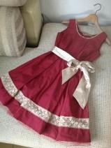 Dress Autumn of 2019 Blue, Burgundy, light khaki Average size Middle-skirt Sleeveless middle-waisted brocade other
