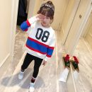 suit Other / other Yellow blue 110cm 120cm 130cm 140cm 150cm 160cm female spring and autumn motion Long sleeve + pants 2 pieces routine There are models in the real shooting Socket nothing other cotton children birthday nine thousand one hundred and twenty-one Class B Cotton 80% other 20%