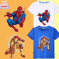 T-shirt Tagkita / she and others 100cm (children's clothing m), 110cm (children's clothing L), 120cm (children's clothing XL), 130cm (children's clothing 2XL), 140cm (children's clothing 3XL), 150cm (children's clothing 4XL), 160cm (adult s), 170cm (adult m) male summer Short sleeve Crew neck nothing