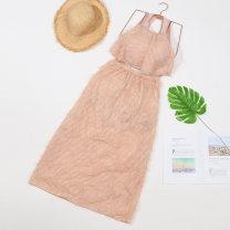 Bikini Baiya Black, white, meat pink M [75-95 Jin], l [95-105 Jin], XL [105-130 Jin] boxer Steel strap breast pad polyester fiber
