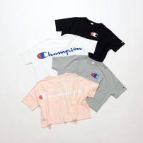 T-shirt White, light gray, black, light pink M, L cotton 96% and above CHAMPION CW-R303