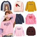 T-shirt Other / other 2T/80,3T/90,4T/100,5T/110,6T/120,7T/130 neutral spring and autumn Long sleeves Crew neck leisure time No model nothing cotton Cartoon animation Cotton 95% other 5% Class A Sweat absorption